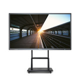 10 touch point LED interactive touch screen monitor 65 inch all in one PC TV teaching smart board