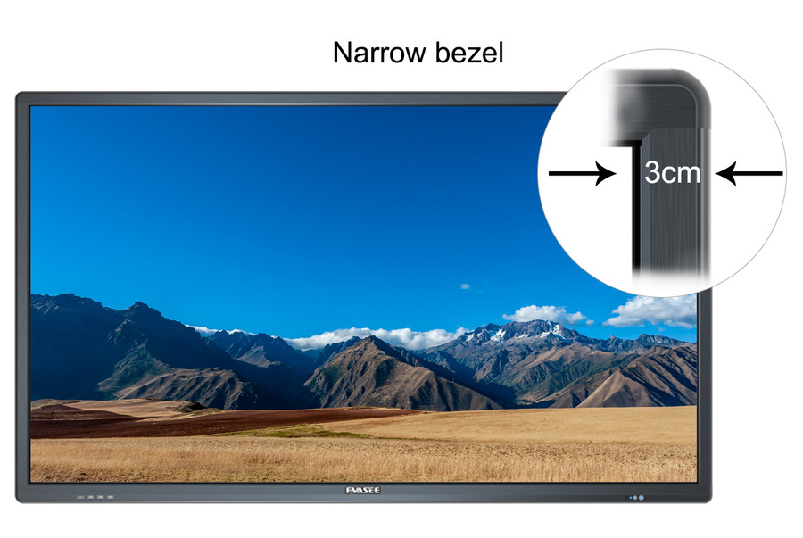 50 inch School Application Touch Screen Monitor Durable